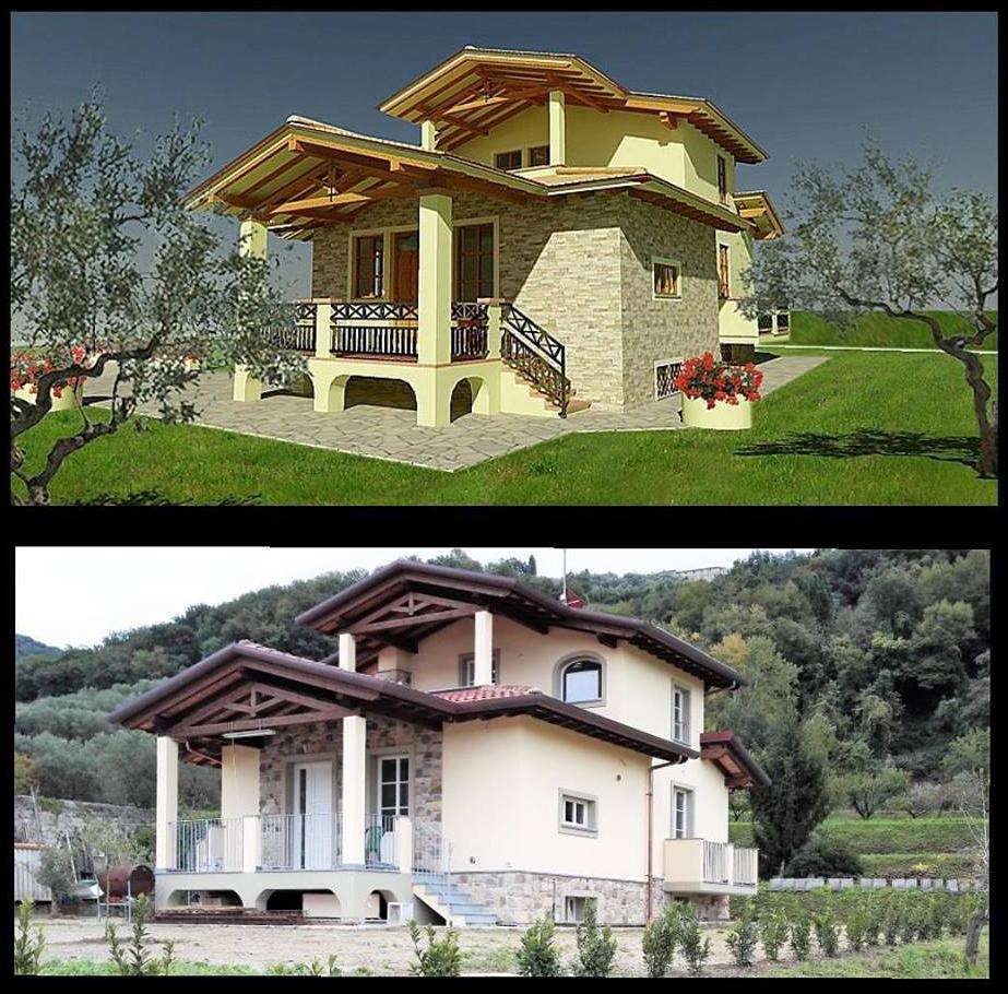 Progetto villetta great piano primo progetto villetta for Progetto giardino villetta
